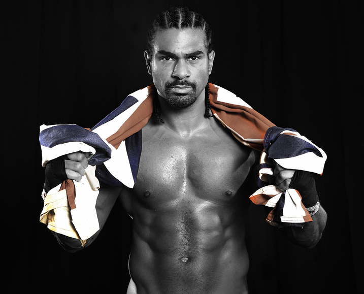 STARS OUT FOR THE HAYEMAKER'S RETURN TO THE RING
