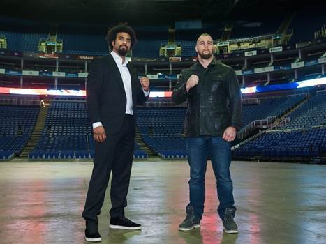 DAVE LANDS DAVID HAYE COMEBACK FIGHT